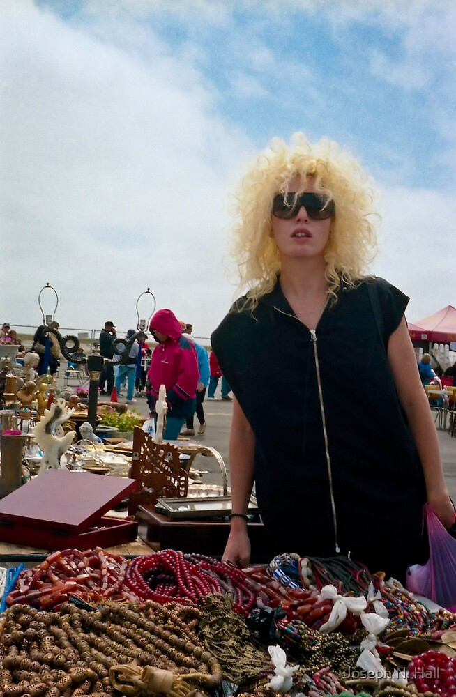 Blonde at Alameda Antique Faire by Joseph N. Hall