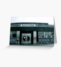Blue Plate Diner - Middletown Rhode Island Greeting Card