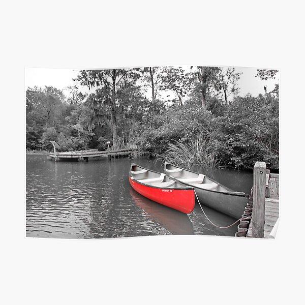 The LIttle Red Canoe Poster