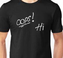 Oops! Hi - (Louis Tomlinson Tattoo) Unisex T-Shirt