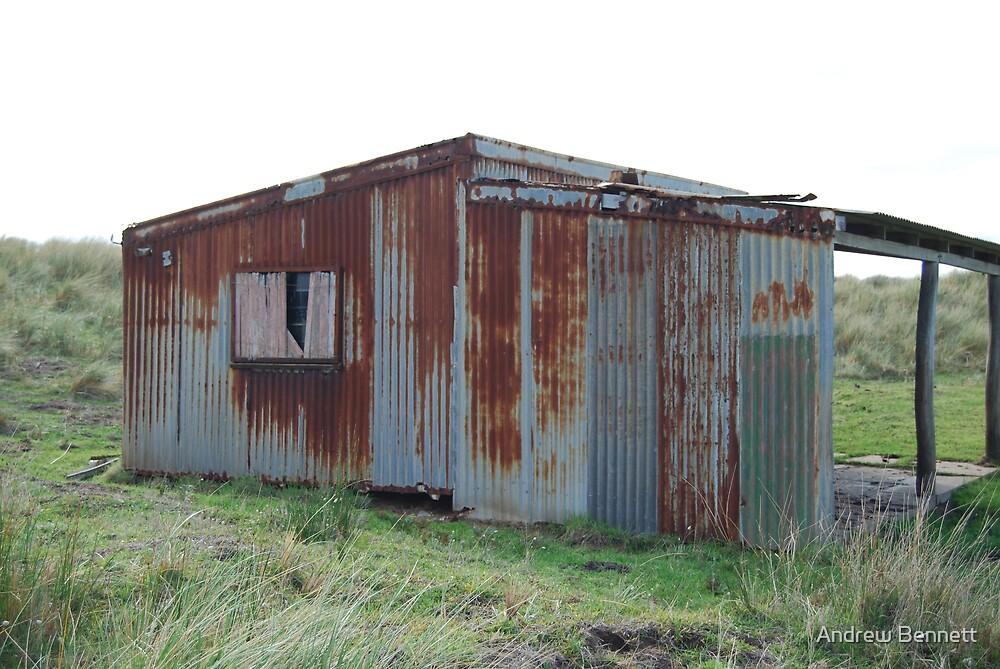rustic fishermans hut by Andrew Bennett