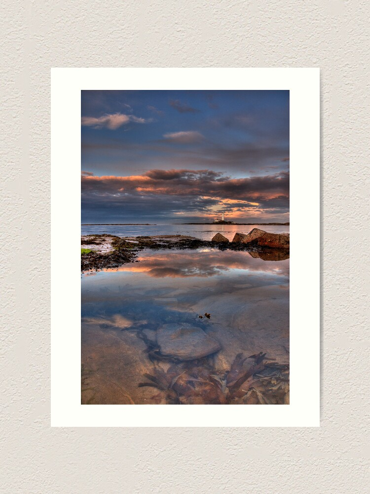 Alternate view of Water reflections Art Print