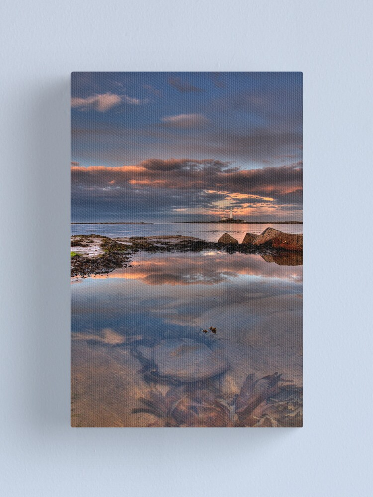 Alternate view of Water reflections Canvas Print