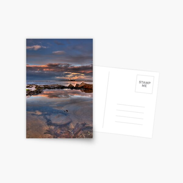 Water reflections Postcard