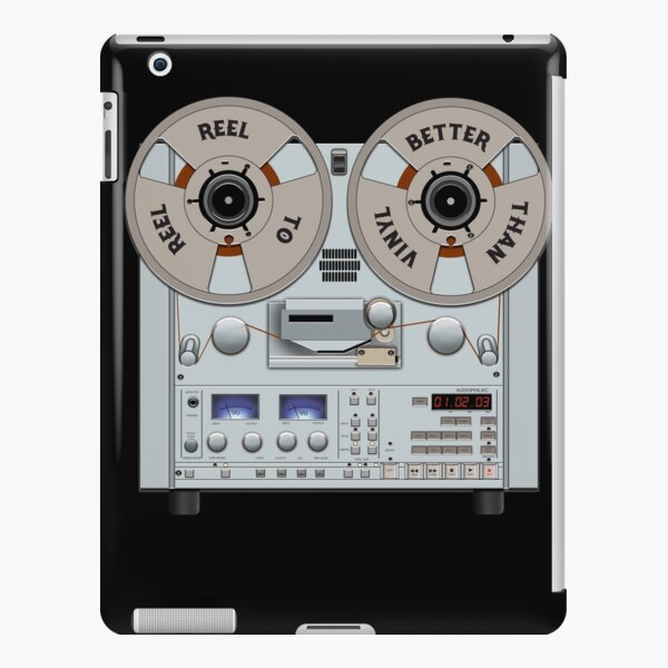 Reel to Reel Tape Recorder is Better Than Vinyl iPad Snap Case