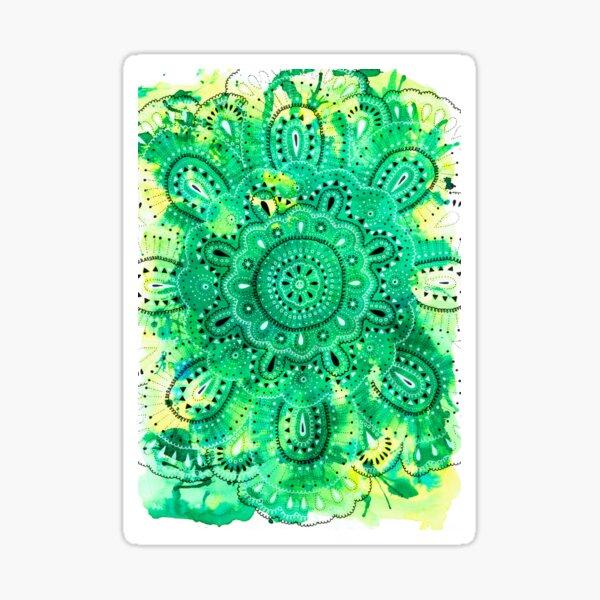 Mandala Nature Sticker