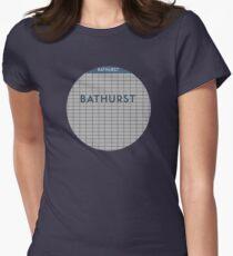 BATHURST Subway Station Women's Fitted T-Shirt