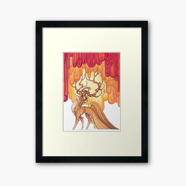cloth Framed Art Print