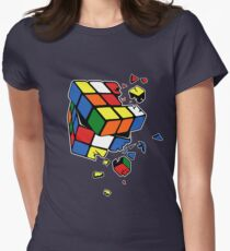 Rubik's Cube Women's Fitted T-Shirt