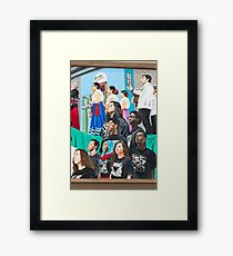 Culture Work Framed Print