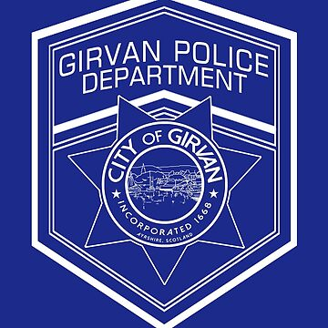 Girvan PD Logo Plain White by OctoberFifteen