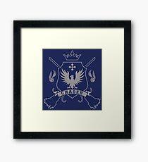BLUE EAGLE CHASER!!  Framed Print