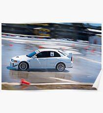 Póster Mitsubishi EVO - Wetpan