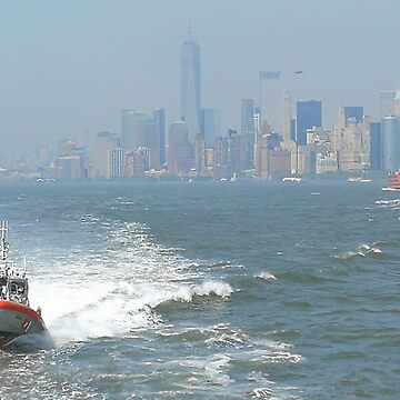 Skyline of Manhattan New York by GeometricLove