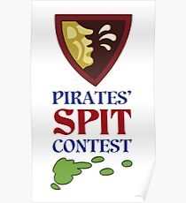 MONKEY ISLAND 2 - SPIT CONTEST Poster
