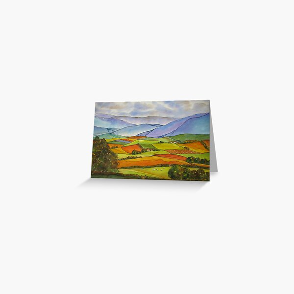 Yorkshire Quilt Greeting Card