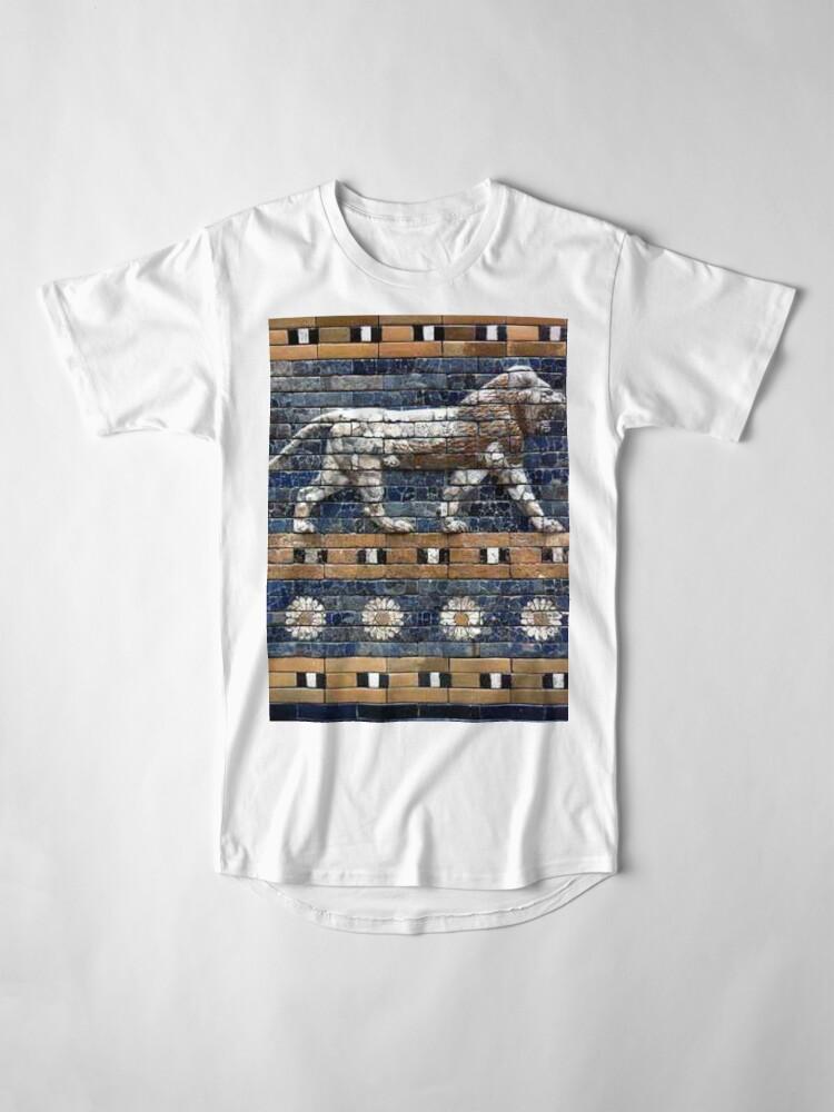 Alternate view of BABYLON, Gates of Babylon, Detail of the Ishtar Gate reconstruction Long T-Shirt