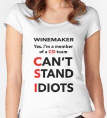 WINEMAKER Women's Fitted Scoop T-Shirt