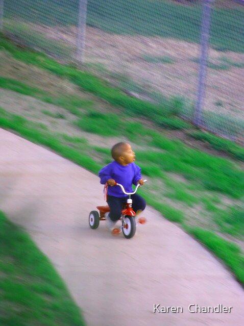 Childhood innocence by Karen  Chandler