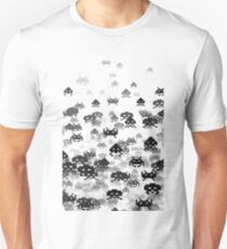 Invaded III B&W Unisex T-Shirt