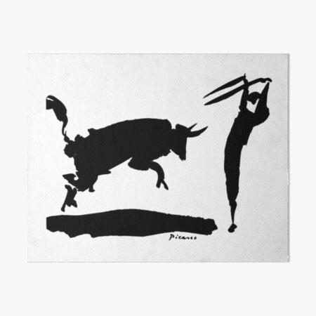 Picasso's Bullfighter  Art Board Print