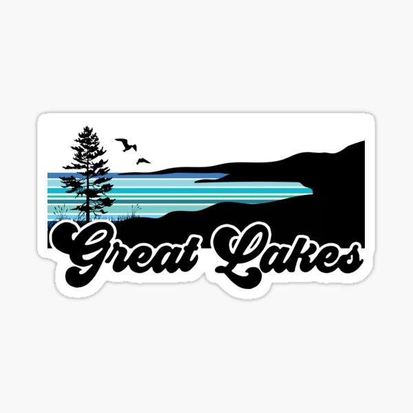 Great Lakes Coast Sticker