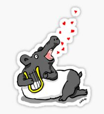 tapir d'amour Sticker