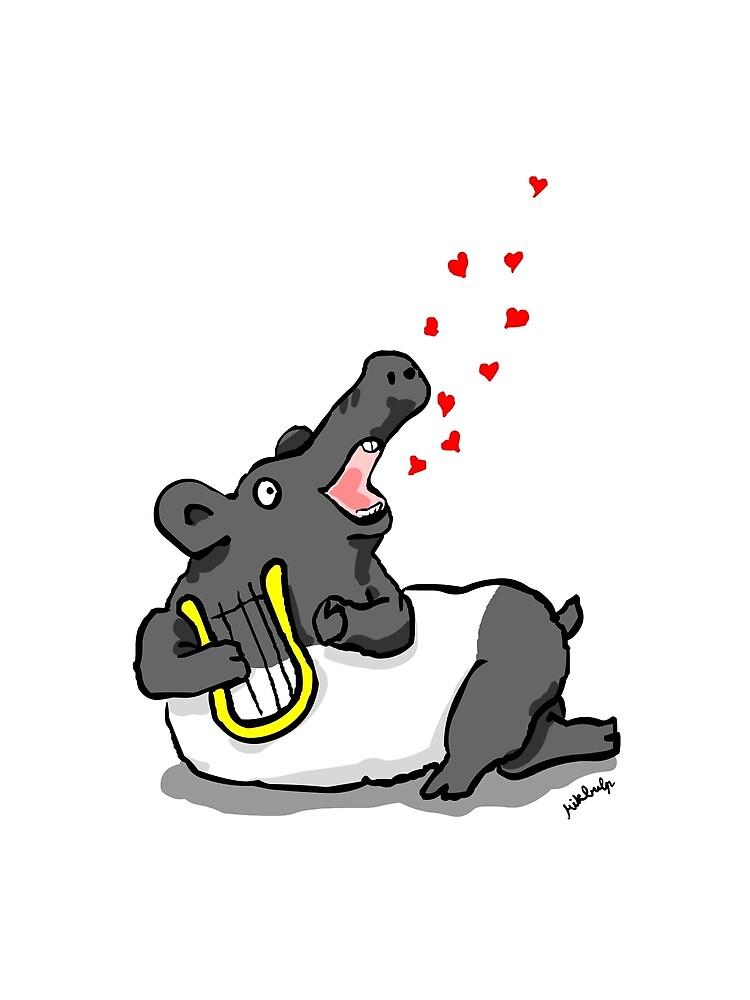 tapir d'amour by Mikbulp
