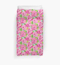 Rose Print Duvet Cover