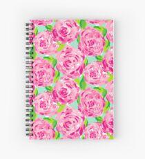 Rose Print Spiral Notebook