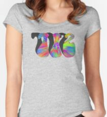 PEACE, LOVE, AND THE  712 Women's Fitted Scoop T-Shirt