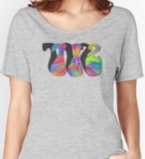 PEACE, LOVE, AND THE  712 Women's Relaxed Fit T-Shirt