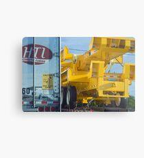 Wheels of commerce Metal Print