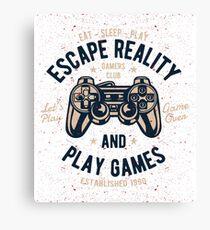 Escape Reality Canvas Print