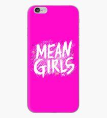 bedeuten Mädchen Logo w / Kritzeleien iPhone-Hülle & Cover