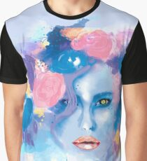 Woman with flower crown Graphic T-Shirt