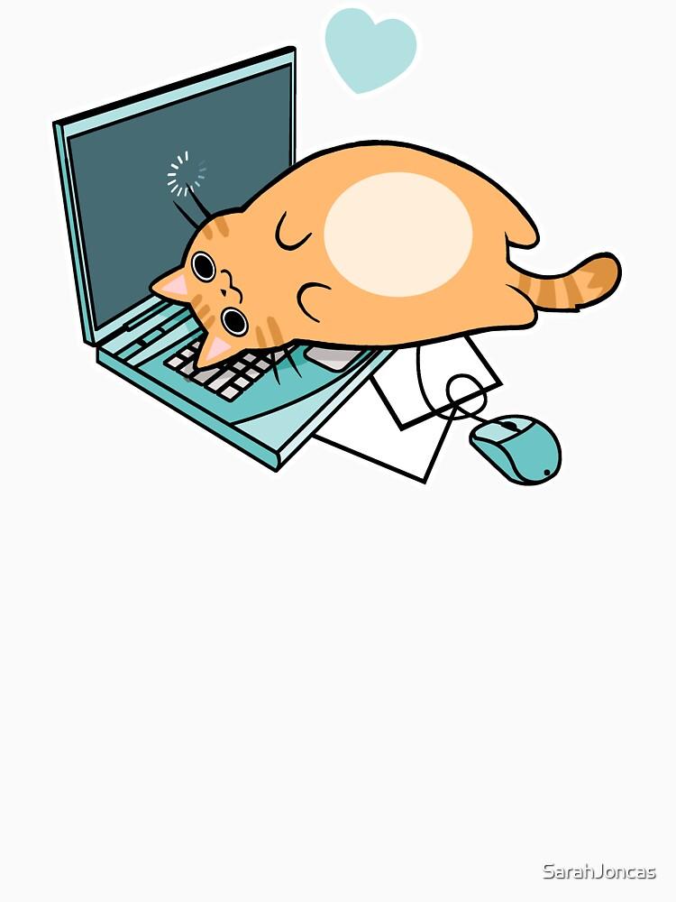 «Chat mignon pour ordinateur portable» par SarahJoncas