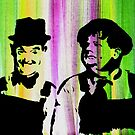 Laurel and Hardy by TwotoneArt
