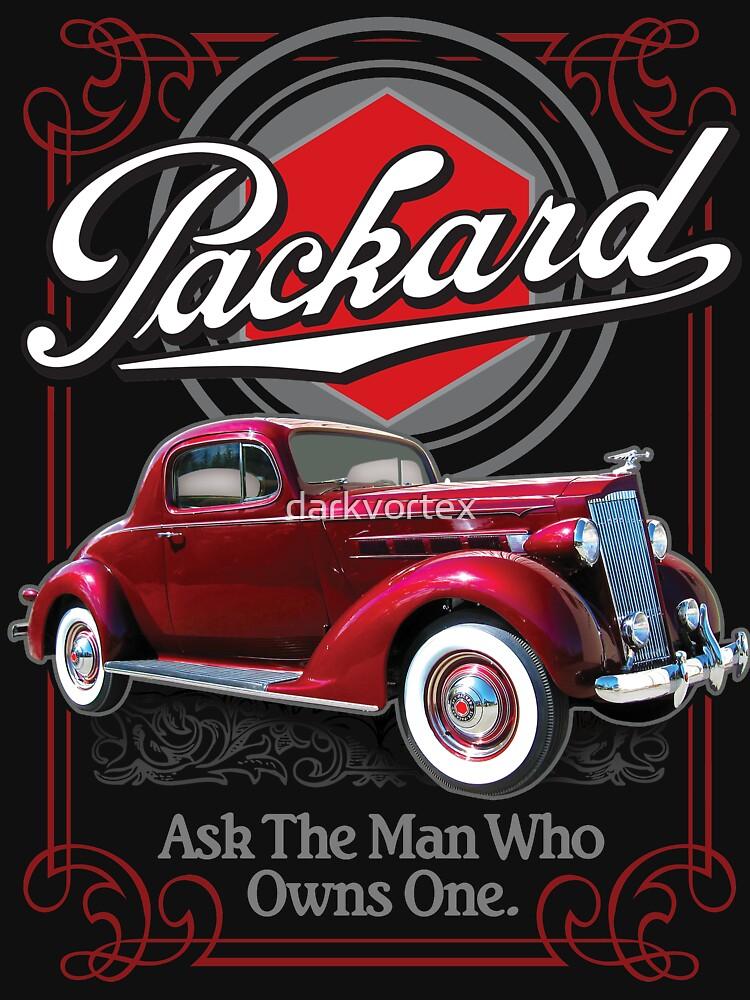 Packard Shirt Packard Motor Car Company Tshirt by darkvortex