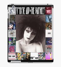 Siouxsie and the Banshees - Siouxsie Sioux framed in Album Covers 2 iPad Case/Skin