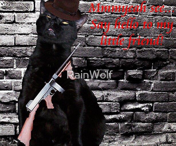 Gangster Kitty by RainWolf