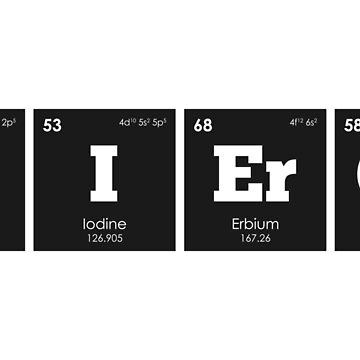 Chemistry - Elements of the Periodic Table: FIERCE by ThisOnAShirt