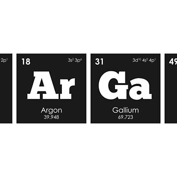 Chemistry - Elements of the Periodic Table: BARGAIN by ThisOnAShirt