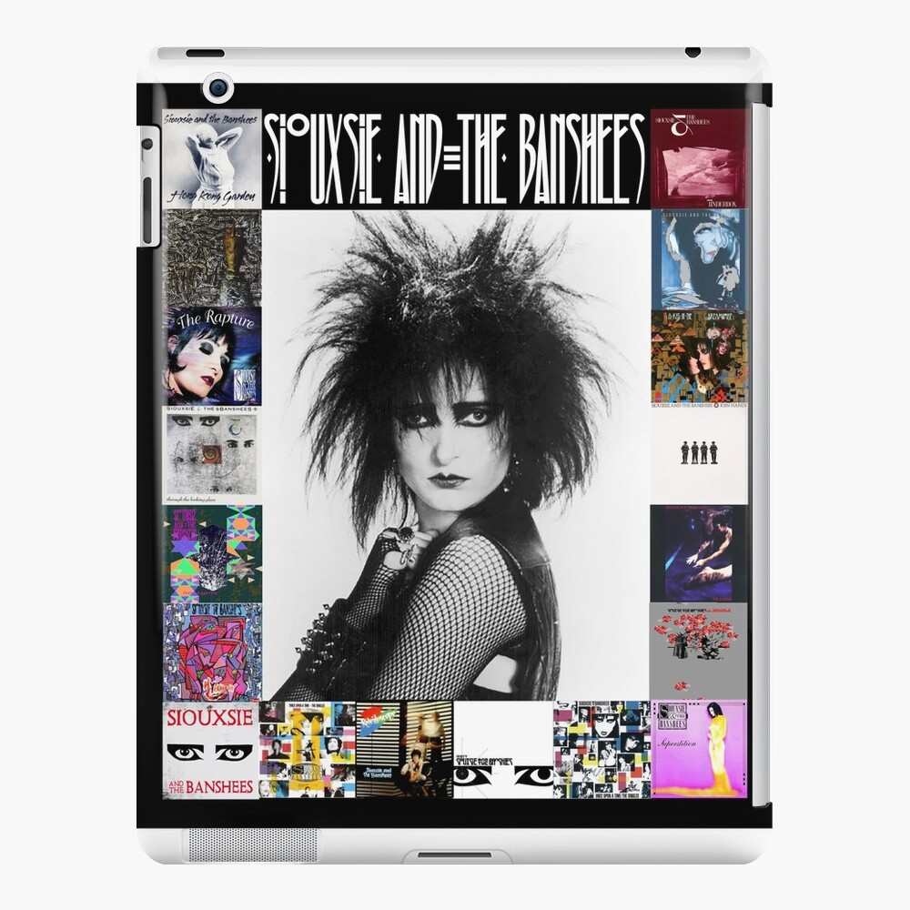 Siouxsie and the Banshees - Siouxsie Sioux framed in Album Covers 3 iPad Case & Skin