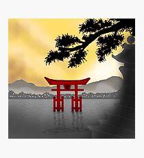 Japanese Scenery Photographic Print