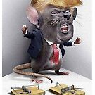 Rat Trump Backed Into a Corner by #PoptART products from Poptart.me