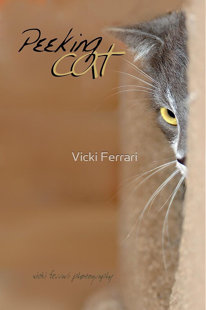 Peeking Cat © by Vicki Ferrari