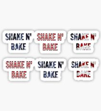Shake and Bake, Set Sticker