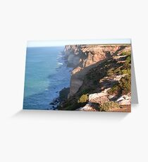 Great Australian Bight Greeting Card