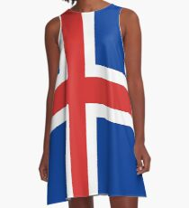 Island A-Linien Kleid